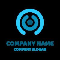 Three Elements Symbolizing Hugging Logo Design