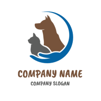 Happy Pets Shelter and Clinic Logo Design