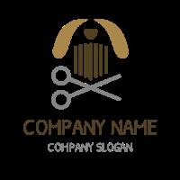 Pet Grooming Beauty Salon Logo Design
