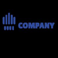 Minimalist Brush and Paint Stripes Logo Design