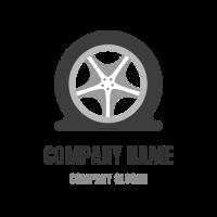 Flat Tire Icon for Car Service Logo Design