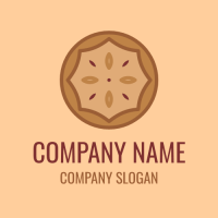 Bakery Logo | American Pie with Berry Filling