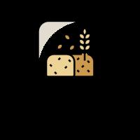 Natural Homemade Bread Logo Design