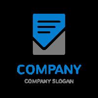 Minimalist Business Checklist Logo Design