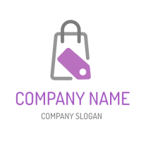 Business & Finance Logo | Shopping Bag with Pricetag