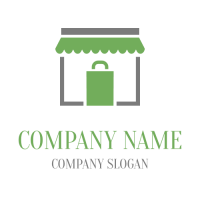 Small Store with Package Logo Design