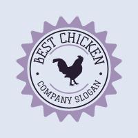Vintage Rooster Farm Business Logo Design