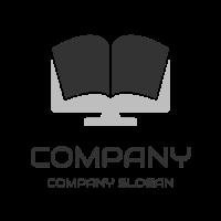 Black Book on the Desktop Logo Design