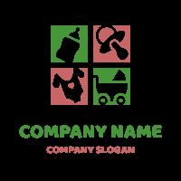 Childcare Logo | Bottle Stroller Babys Pacifier Tshirt