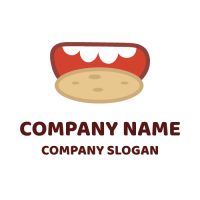 Appetizing Chocolate Chip Cookie Logo Design
