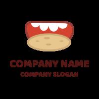 Appetizing Chocolate Chip Cookie Logo Design