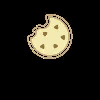 Cookie Logo | Modern Chocolate Chip Cookie