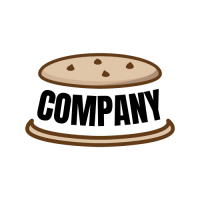 Two Halves of Crunchie Wafer Logo Design