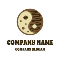 Cookie Logo | Yin and Yang Delicious Cookie