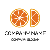 One and a Half of Grapefruit Logo Design