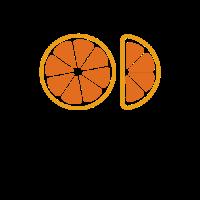 Orange Logo | One and a Half of Grapefruit