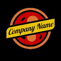 Minimalist Yellow Banner Logo Design