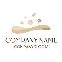 Natural Colors Organic Bakery Logo Design