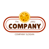 Pizza Logo | Red Signage with Cheese