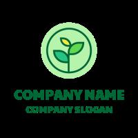 High Quality Vegetarian Food Logo Design